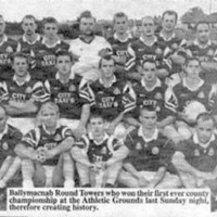 Climbing the steps for Gary Donnelly was a massive leap for Ballymacnab. The Round Towers breakthrough in 1999