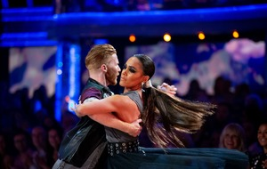 Alex Scott: I won't dance for the judges