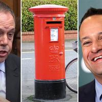 Nigel Dodds slams Leo Varadkar over Brexit red post box comments