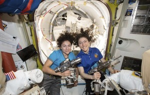Donald Trump praises astronauts on first all-female spacewalk