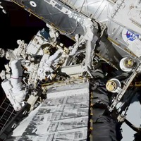 Nasa astronauts complete historic all-female spacewalk