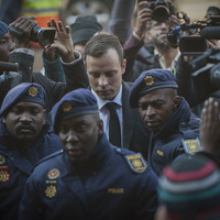 On This Day in 2013: South African athlete Oscar Pistorius jailed for five years for shooting his girlfriend Reeva Steenkamp dead