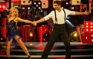 Strictly's Nadiya thanks David James for 'beautiful journey'