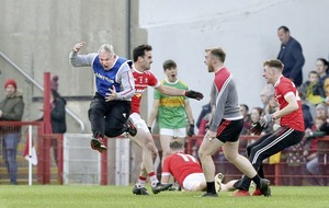 Magherafelt hold on for deserved win in controversial finale