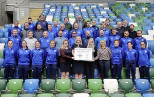 Uefa Grassroots gold award for Irish Football Association