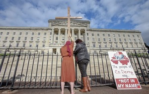 Catholic bishops: 'Deeply offensive' to describe Stormont sitting on abortion as 'stunt'