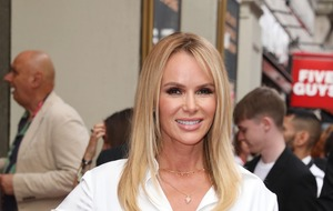 Amanda Holden breaks her leg in accident during family holiday