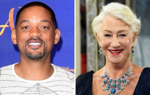 Will Smith and Helen Mirren urge public to join sleep-out to end homelessness
