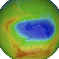 South Pole ozone hole shrinks to smallest size since discovery