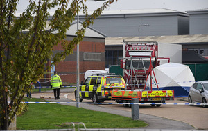 Man from Northern Ireland arrested as 39 bodies found in Essex lorry container