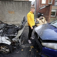 Video: Police believe arson attacks on cars in Belfast Holylands could be linked