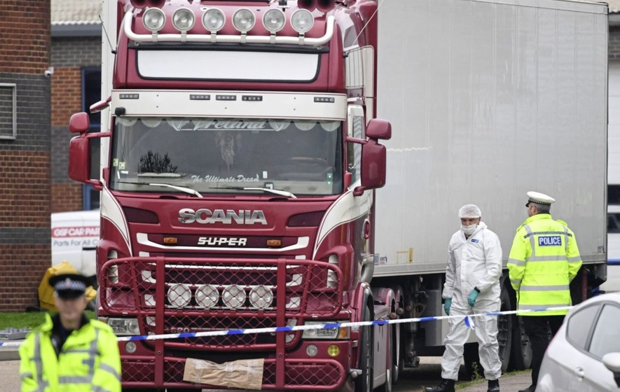 People Found Dead In Essex Lorry Were Chinese
