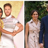 Alex Scott and Neil Jones address Meghan and Harry comparisons
