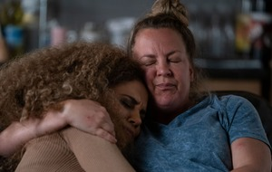 Chantelle Atkins breaks down over miscarriage in EastEnders images