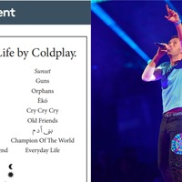 Coldplay reveal new album's tracklist in local newspaper classified ads