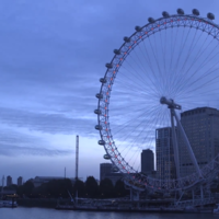 London Eye rotates backwards for first time to mark end of British Summer Time