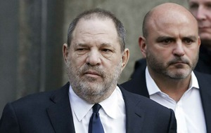 Weinstein mocked and jeered during rare public appearance