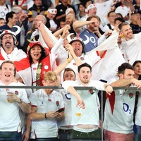 England fans join in Wonderwall singalong after World Cup semi-final win