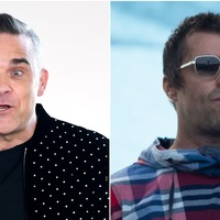 Robbie Williams 'more than happy to get in the ring' with Liam Gallagher