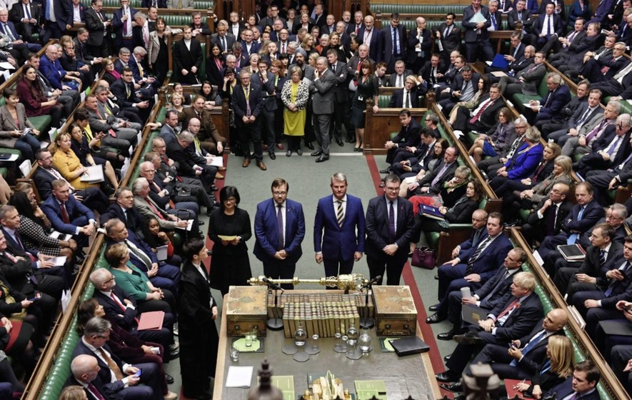 United Kingdom lawmakers approve December election as European Union formalises Brexit delay