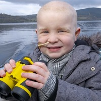 Boy with leukaemia 'fulfils wish' to find Loch Ness Monster