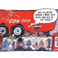 Arlene Foster cartoons by Ian Knox