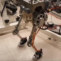 Two-legged robot can mimic human balance, say researchers