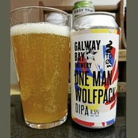Beer: Galway Bay and To ol's glorious double IPA, One Man Wolfpack