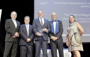 Maghaberry Prison receives international award in Buenos Aires