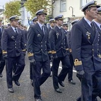 Argentine Navy sails in to Ireland to honour its founder