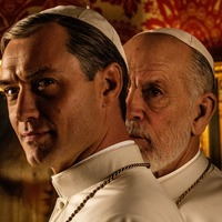 John Malkovich takes over papacy from Jude Law in The New Pope teaser