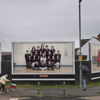 Steve McQueen's school pupil portraits emerge on billboards