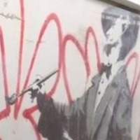 In Video: Previously hidden Banksy mural is rediscovered