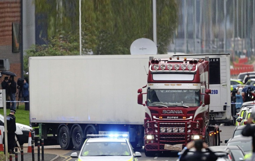 British Police ID All 39 Victims Found in Truck Container