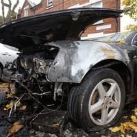 Another car burnt out in south Belfast's Holylands area