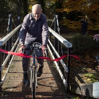 I knew I would get there one day, says 82-year-old after cycling millionth mile