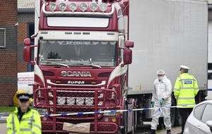 Police confirm children among 39 people found dead in Essex lorry container