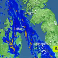 Flood warning as heavy rain expected in Northern Ireland tomorrow