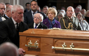 Gay Byrne helped lead national conversation, mourners told