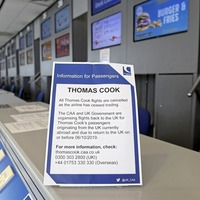 Jet2.com and EasyJet buy Thomas Cook's landing slots