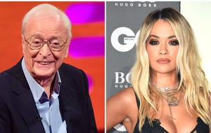 First look at Sir Michael Caine and Rita Ora in new Oliver Twist film