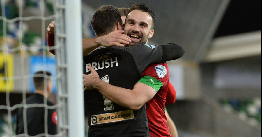 """Richard Brush deserves Player of The Month"" claims Cliftonville's Joe Gormley - The Irish News"