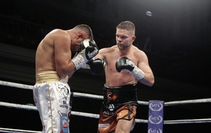 Gutsy Conrad Cummings loses out in WBO European middleweight title challenge