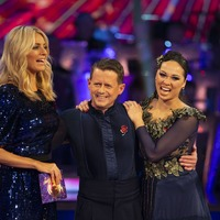 Strictly's Katya Jones praises 'inspiring' Mike Bushell as pair are eliminated