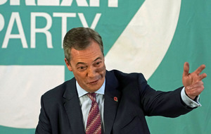 Brexit Party will not fight seats won by Conservatives in 2017, says Nigel Farage