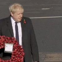 BBC apologises after airing wrong footage of Boris Johnson cenotaph gaffe