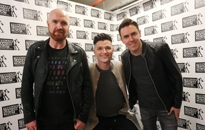 The Script edge ahead in race to top UK album charts