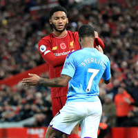 Raheem Sterling and Joe Gomez train together after England row