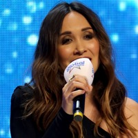 Myleene Klass jokes about jungle shower as she stands in for I'm A Celeb star