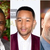 Idris Elba and The Rock react as John Legend is named world's sexiest man